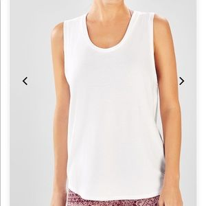 FABLETICS Reyna Muscle Tank - White